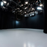 Bath Spa University's TV Studio - Studio Floor