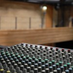 Mixing desk at the University Theatre, Bath Spa Venues