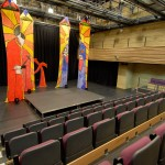 Seating and stage at the University Theatre, Bath Spa Venues